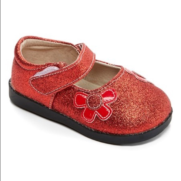 a424a94439378 Sneak A' Roos Toddler Squeaky Mary Janes